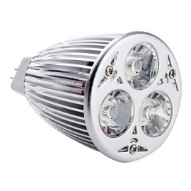 GU5.3(MR16) LED Spotlight MR16 3 High Power LED 540 lm Warm White DC 12 V