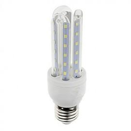SD 1PCS E27 7W 600lm Warm White/White Light 36 SMD 2835 LED Corn Lamps (AC 85-265V)