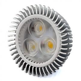 6W GU5.3(MR16) LED Spotlight MR16 3 High Power LED 560 lm Warm White / Cool White AC/DC 12 V 1 pcs