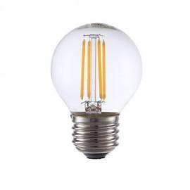 3.5W E26 LED Filament Bulbs G16.5 4 COB 350 lm Warm White Dimmable 120V 1 pcs