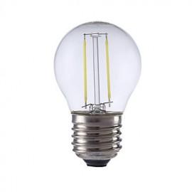 2W E27 LED Filament Bulbs P45 2 COB 250 lm Warm White / Cool White AC 220-240 V 1 pcs