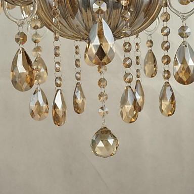Maximum 60 W Modern/Contemporary Crystal Glass ChandeliersLiving Room / Bedroom / Dining Room / Bathroom / Study Room/Office / Kids Room
