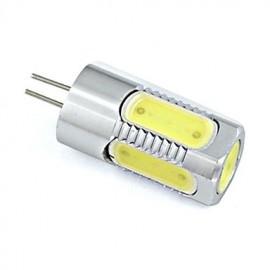 3W G4 Aluminium LED Bulb 5 COB Spotlight 260 lm Warm White / Cool White DC 12V (1 Piece)