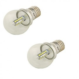 2PCS E27 4W 360lm 6000K 20xSMD2835 White Light LED Bulb Lamp(85~265V)