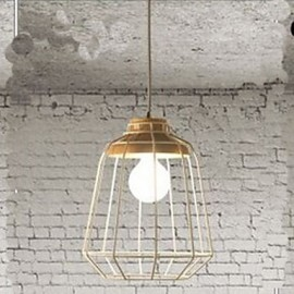 Metal Chandelier lighting C Simple Bedroom Study Restaurant Bar