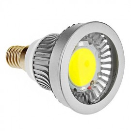 E14 3 W 1 COB 270-300 LM Cool White Spot Lights AC 85-265 V