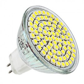 GU5.3 3.5 W 80 SMD 3528 300 LM Natural White MR16 Spot Lights DC 12 V