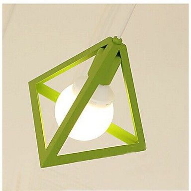 5-15W Lantern Mini Style Painting Metal Chandeliers Bedroom / Dining Room / Kitchen / Study Room/Office / Game Room
