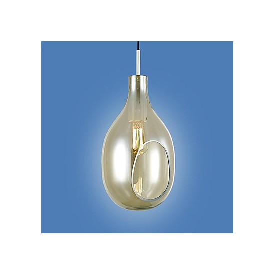 Chandeliers 1 light simple modern artistic pendant light for Artistic pendant lights