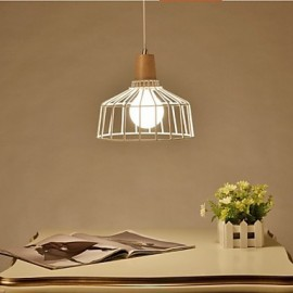 Metal Chandelier lighting B Simple Bedroom Study Restaurant Bar