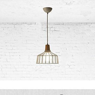 Metal Chandelier lighting B Simple Bedroom Study Restaurant Bar