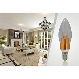 7W E14 650-700LM 3000-3500K Warm White Color LED Candle Style Candle Bulb (85-265V)