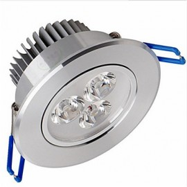 6W LED Ceiling Lights Recessed Retrofit 6 SMD 2835 500-550 lm Warm White Dimmable AC220 V