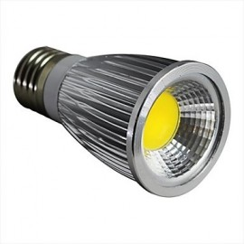 7W E26/E27 LED Spotlight 1 COB 600LM lm Warm White Dimmable AC 100-240 V
