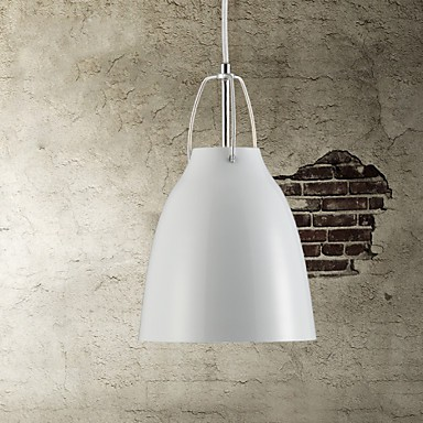 Contemporary and contracted droplight 1 light Metal Pendant Light