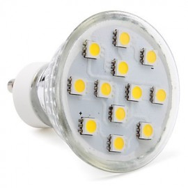 3W GU10 LED Spotlight MR16 12 SMD 5050 150 lm Warm White AC 220-240 V