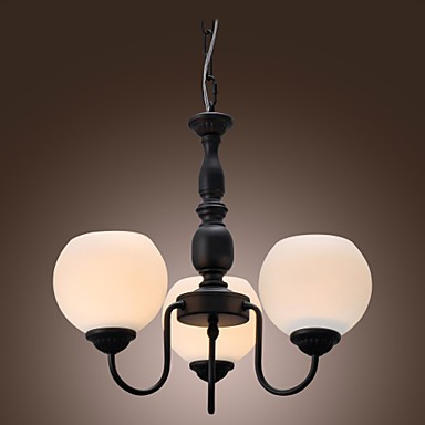 Max 60W Traditional/Classic Candle Style Bronze Chandeliers Living Room