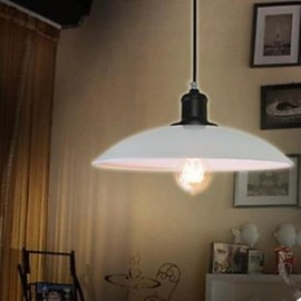 Contracted White Droplight Rustic/Lodge, Traditional/Classic Pendant Light