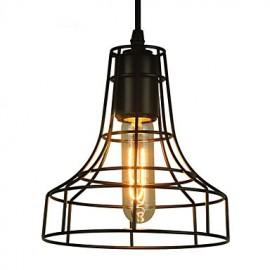 Europe Style Vintage Chandeliers for Dining Room,Black Pendant Light