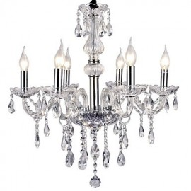 Max 40W Modern/Contemporary Electroplated Metal Chandeliers Living Room / Bedroom / Dining Room