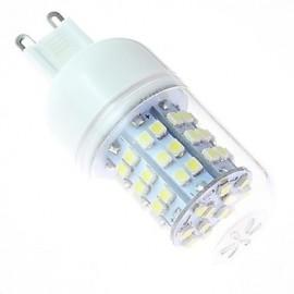 White Light LED Bulb G9 4W 60SMD3528 5500-6500K 220V