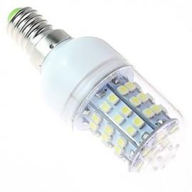 White Light LED Bulb, E14 4W 60SMD3528 5500-6500K 220V