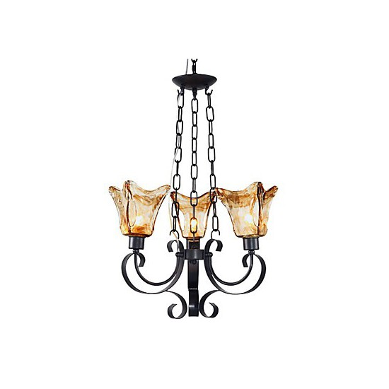 Painting Dining Room Chandelier: Max 60W Traditional/Classic Bulb Included Painting Metal