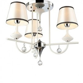 Max 60W Modern/Contemporary Crystal Chrome Metal Chandeliers Living Room / Bedroom