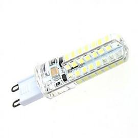 7W High Performance G9 Based SMD 2835 Warm Light/White Light Tiny LEDs Corn Light (64 LEDs 550LM)