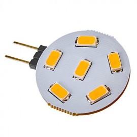 3W G4 LED Spotlight 6 SMD 5730 120-150 lm Warm White / Cool White DC 12 / AC 12 V