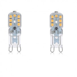 2PCS G9 14SMD2835 4W 300-400LM Warm White /Cool White Decorative AC220V/110V LED Corn Lights T