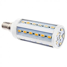 E14 6W 42x5630SMD 480-540LM 2500-3500K Warm White Light LED Corn Bulb (220-240V)