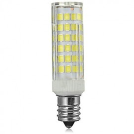 E14 8W 600lm 3500/6500K 75-SMD 2835 LED Cool /Warm White Light Bulb Lamp (AC 220-240V)