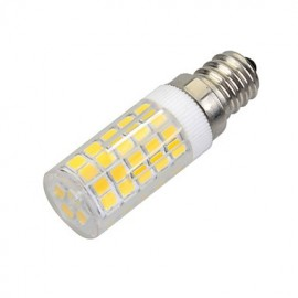 E14 7W 500lm 3500K 64-SMD 2835 LED Warm White Light Bulb Lamp (AC 220-240V)