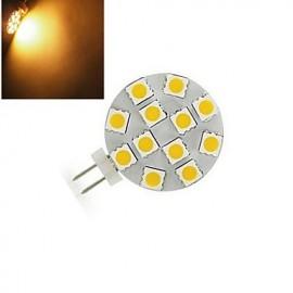 1 pcs ding yao G4 4W 12X SMD 5050 200LM 2800-3500/6000-6500K Warm White/Cool White Bi-pin Lights DC 12V