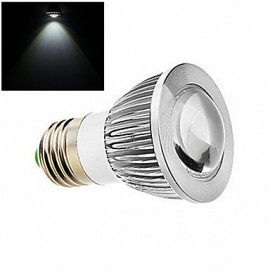 1 pcs ding yao E27 9W 1X COB 200LM 280-3500/6000-6500K Warm White/Cool White Spot Lights AC 85-265V