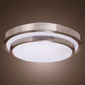 Max 18W Modern/Contemporary Bulb Included Electroplated Flush Mount Living Room / Bedroom / Dining Room / Kitchen