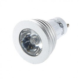 1PCS GU10/E14 3W 1-High Power LED Decoration Bulb Remote Lamps RGB Light 260lm (AC110-120V/220-240V)