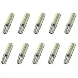 7W BA15D LED Corn Lights T 152LED SMD 3014 550-600LM Warm White / Cool White Decorative AC110 / AC220 V 10 pcs