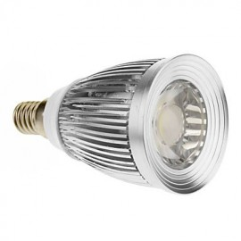 7W E14 LED Spotlight 1 COB 600-630 lm Cool White AC 85-265 V