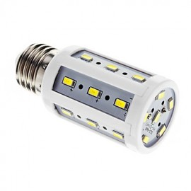 5W E26/E27 LED Corn Lights T 24 SMD 5730 450 lm Cool White AC 220-240 V