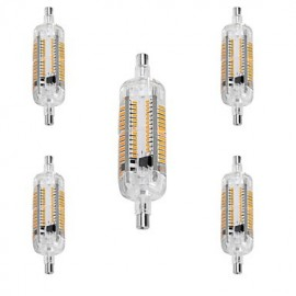 5W R7S LED Corn Lights T 104 SMD 3014 800 lm Warm White / Cool White Decorative / Waterproof AC 220-240 V 5 pcs