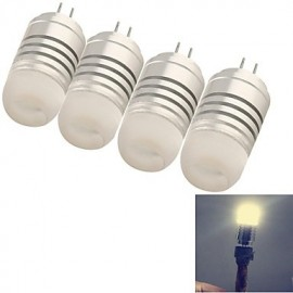4W G4 LED Corn Lights T 8 SMD 3014 120 lm Warm White / Cool White Decorative DC 12 / AC 12 V
