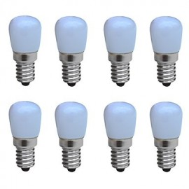 8pcs/lot LED Bulb AC 220V Bright Lamp for Fridge Freezer Crystal Chandeliers Lighting
