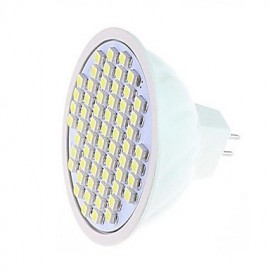 1 pcs 5 W 60LED X SMD 3528 360-750 LM 2800-3500/6000-6500 K Warm White/Cool White MR16 Spot Lights AC 220 V