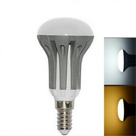 1 pcs E14 7 W 18LED X SMD 2835 520-860 LM R50 Warm White/Cool White Globe Bulbs AC 85-265 V