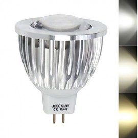 1 pcs 9 W 1led X COB 450-680 LM 2800-3500/6000-6500 K Warm White/Cool White MR16 Spot Lights DC/AC 12 V