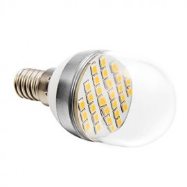 4W E14 LED Globe Bulbs 30 SMD 2835 280 lm Warm White AC 220-240 V