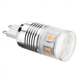 G9 4W 300-320LM 3000-3500K Warm White Light LED Corn Bulb (220-240V)