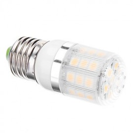 4W E26/E27 LED Corn Lights T 24 SMD 5050 300 lm Warm White AC 110-130 / AC 220-240 V